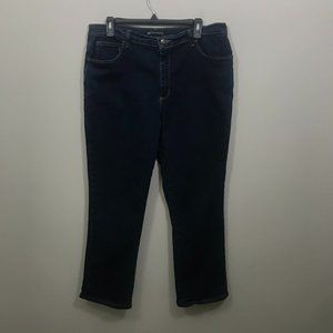 LEE RELAXED FIT PLUS SIZE 16P STRAIGHT LEG JEANS